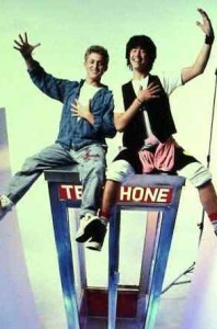 Bill and Ted Phone Booth