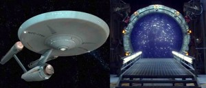 The Enterprise and Stargate