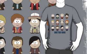 All the Doctors South Park Doctor Who