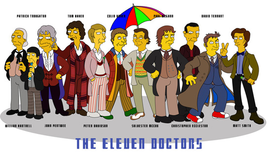Doctor Who Simpson