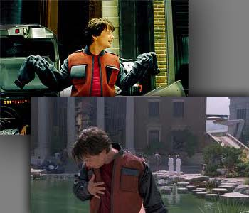 Jacket Marty McFly Back To The Future