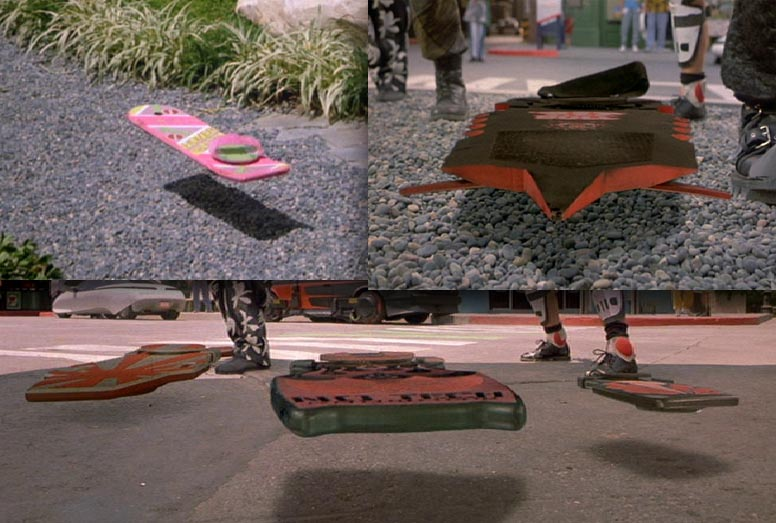 Hoverboards - Back To The Future