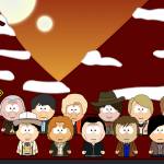 Gallifrey Bus Stop Doctor Who The Doctors South Park