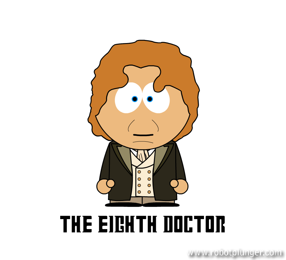 the eight doctor - south park (Paul McGann) - Doctor Who
