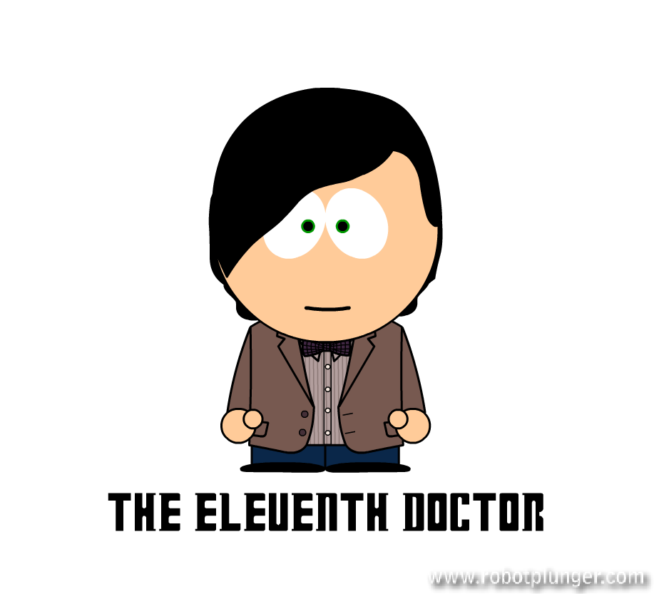 the eleventh doctor - south park (Matt Smith) - Doctor Who