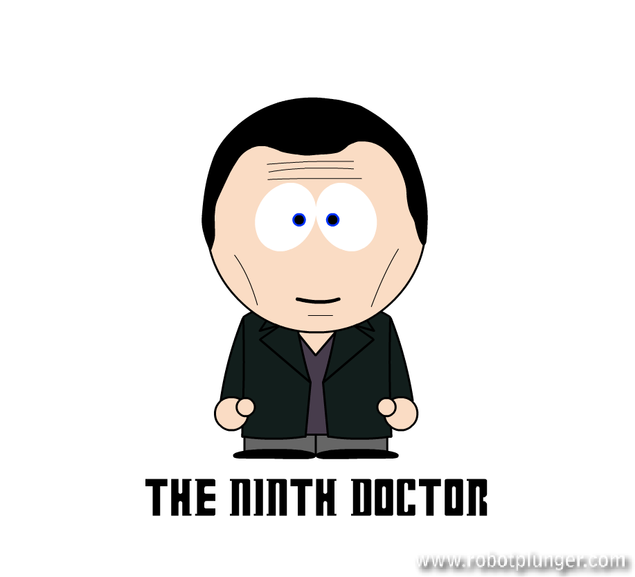 the ninth doctor - south park (Christopher Eccleston) - Doctor Who