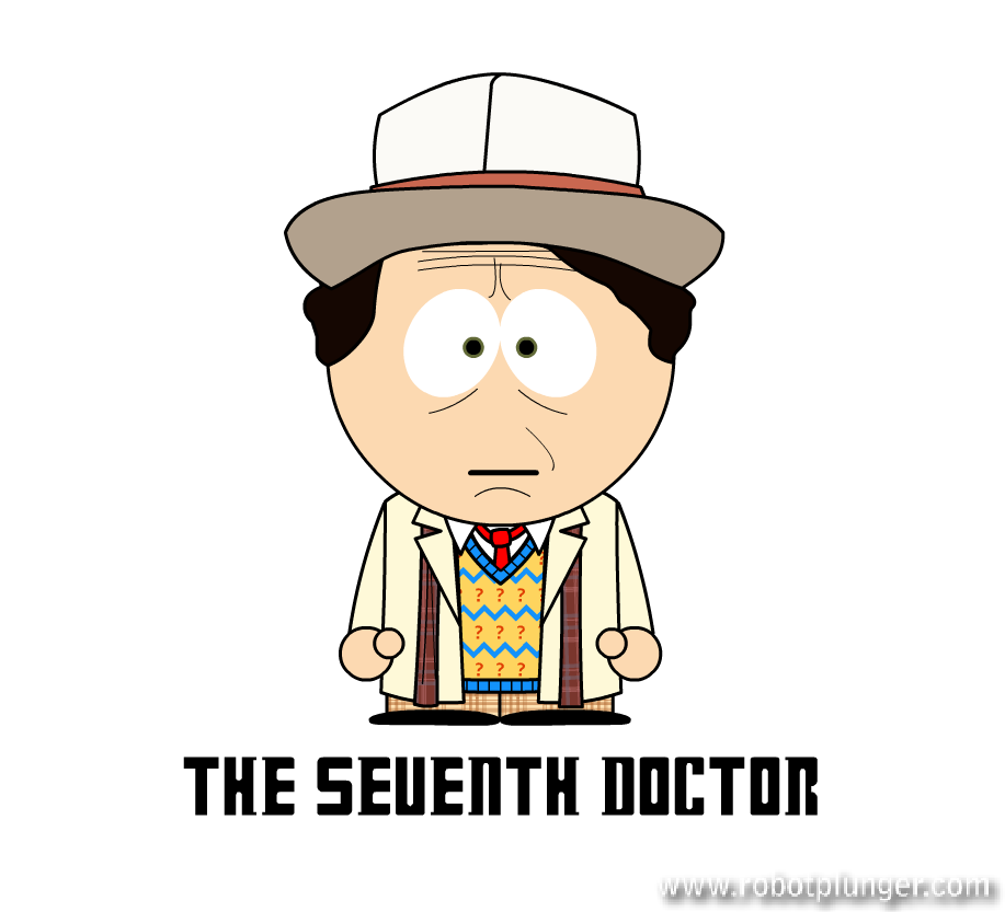 the seventh doctor - south park (Sylvester McCoy) - Doctor Who