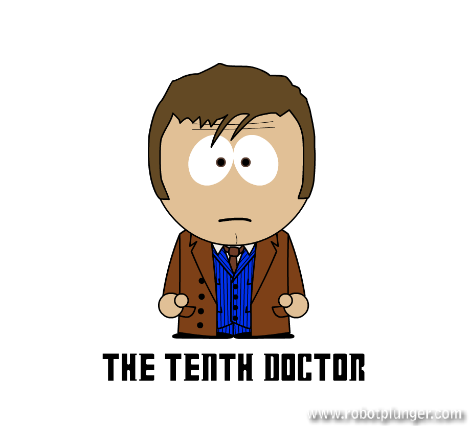 the tenth doctor - south park (David Tennant) - Doctor Who