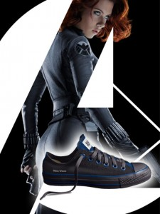 Black Widow Converse