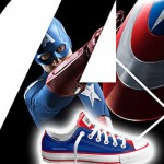 The Avengers Custom Chucks