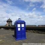 A TARDIS Abroad Edinburgh Castle, Scotland