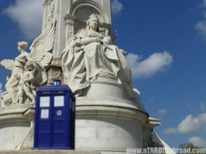 A TARDIS Abroad Victoria Memorial – London, England
