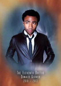 If Doctor Who was American_Donald Glover Eleventh Doctor