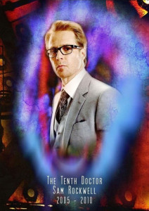 If Doctor Who was American_Sam Rockwell The Tenth Doctor