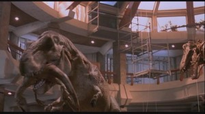 Jurassic Park Trex eating Raptor