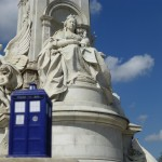 TARDI Victoria Memorial  London UK England Doctor Who