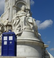 Victoria Memorial, London UK (a TARDIS abroad)
