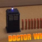 Doctor Who Dominos TARDIS