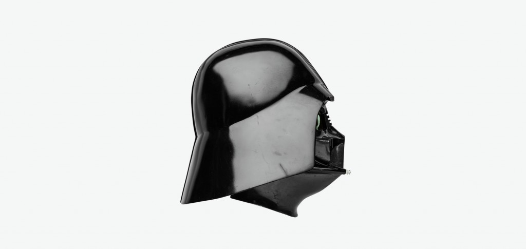 Darth Vader's helmet from Star Wars: Episode IV