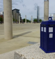 Cardiff, Wales UK (a TARDIS abroad)