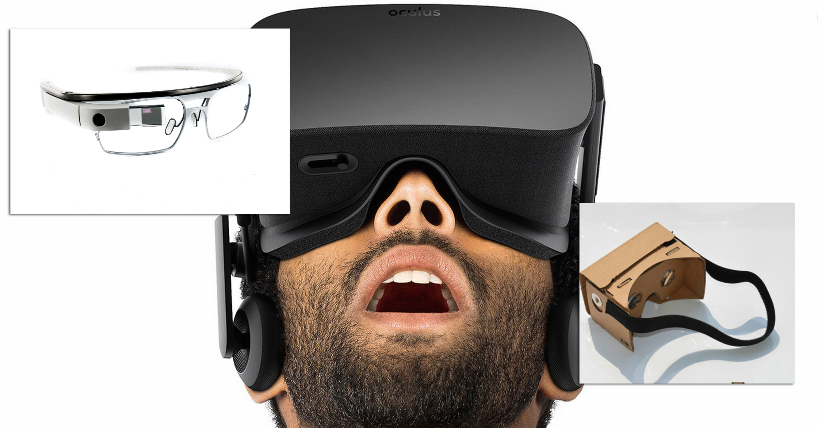VR Glasses oculus rift google glasses google cardboard